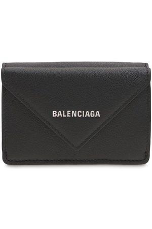 Balenciaga Women Purses & Wallets - Logo Leather Wallet