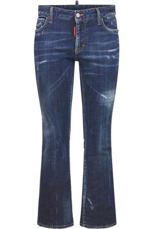 Dsquared2 Women Stretch - Crop Stretch Cotton Jeans