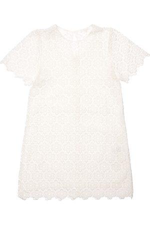 Chloé Floral Cotton Blend Dress