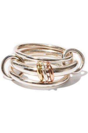 SPINELLI KILCOLLIN Gemini , Rose-gold & Yellow-gold Ring - Mens