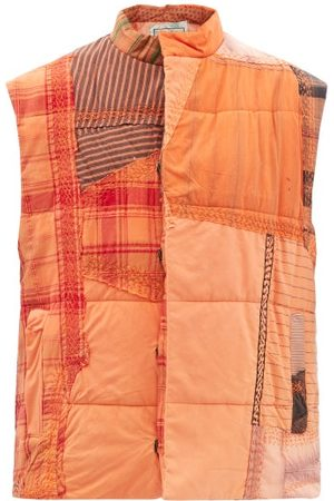 By Walid Teddy Patchworked-cotton Quilted Gilet - Womens