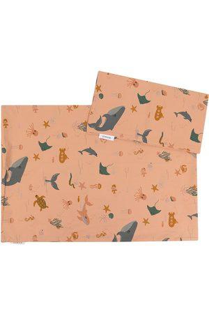 Liewood Sea creature-print tote bag