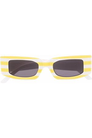 SUNNEI Square-frame striped sunglasses