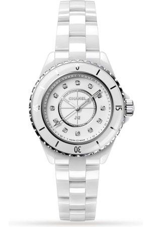 CHANEL Men Watches - J12 White Ceramic 33mm