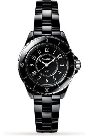 CHANEL Men Watches - J12 Black Ceramic 33mm