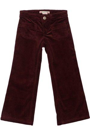 BONPOINT Girls Trousers - Cotton Pants