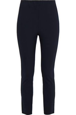 RAG&BONE Women Skinny Trousers - Woman Simone Cropped Stretch-twill Skinny Pants Navy Size 0