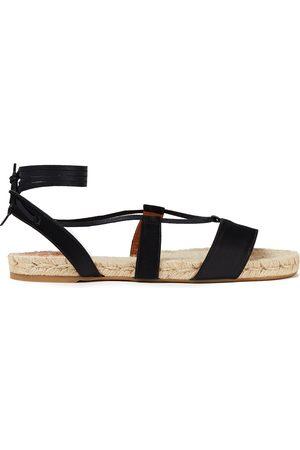 Castaner Castañer Woman Pasha Satin Espadrille Sandals Size 35