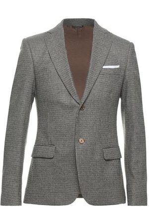 GREY DANIELE ALESSANDRINI Men Blazers - SUITS and CO-ORDS - Suit jackets