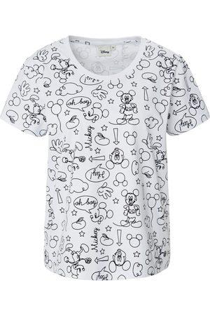 Disney Round neck top print size: 10
