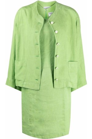 Chanel Pre-Owned 1990s dress and jacket set