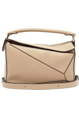 Loewe Puzzle Small Grained-leather Cross-body Bag - Womens