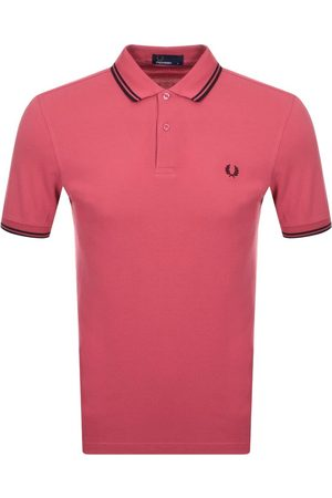 Fred Perry Men Polo Shirts - Twin Tipped Polo T Shirt