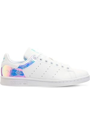 ADIDAS ORIGINALS Stan Smith Leather Lace-up Sneakers