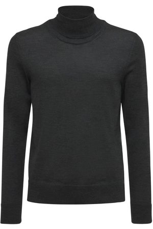 The Row Emile Wool & Silk Turtleneck Sweater