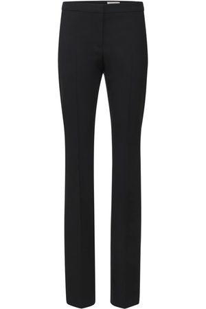 Alexander McQueen Women Trousers - High Waist Wool Pants