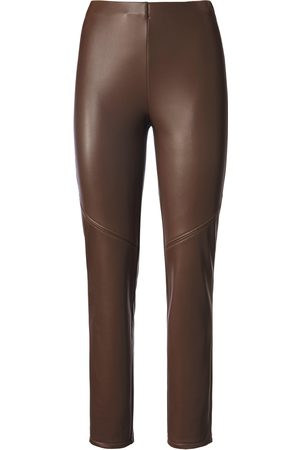 Peter Hahn Women Skinny Trousers - Ankle-length pull-on trousers skinny leg size: 10s