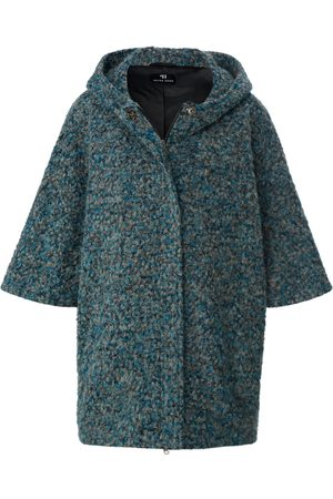 Peter Hahn Cape in oversized style shorter sleeves multicoloured size: 001