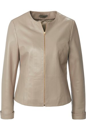 Uta Raasch Leather jacket in shorter length size: 10