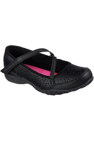 Skechers Girls Breathe-Easy Mary Jane School Shoe