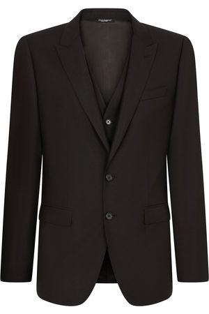 Dolce & Gabbana Three-piece slim-fit suit
