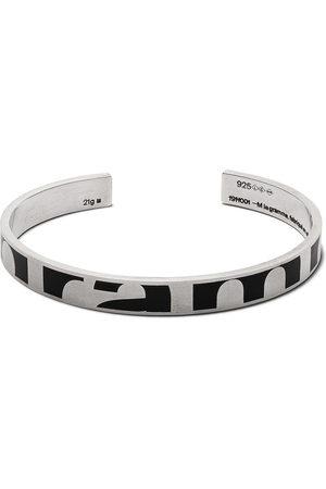 Le Gramme Bracelets - 21g brushed logo bracelet