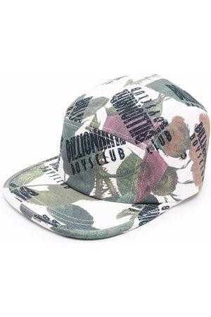 Billionaire Boys Club Men Hats - Floral-print logo baseball cap