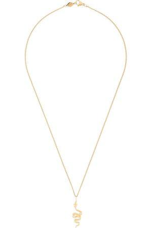 Nialaya Mini snake pendant necklace