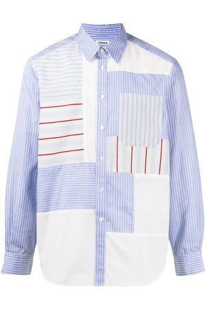Coohem Patchwork long-sleeve shirt