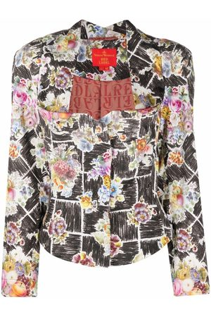 Vivienne Westwood 1990s floral-print bustier-style jacket