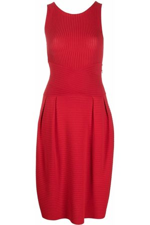 Dior 2010s pre-owned ribbed knitted dress