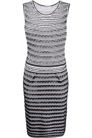 Christian Dior 2010s pre-owned fitted knitted dress