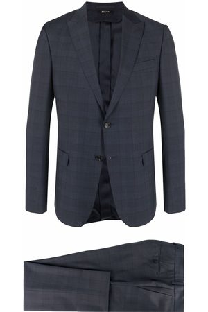Z Zegna Check single-breasted suit