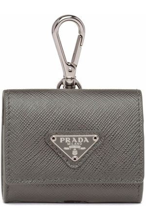Prada Men Phones - Saffiano leather headphone case
