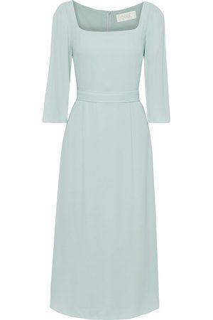 GOAT Women Midi Dresses - Woman Jubilee Crepe Midi Dress Mint Size 10