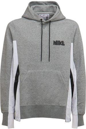Nike Sacai Nylon & Cotton Hoodie