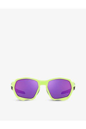 Oakley OO9019 Plazma rectangle-frame nylon sunglasses