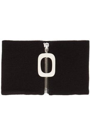 J.W.Anderson Men Scarves - Zipped Wool Snood - Mens