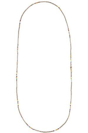 LUIS MORAIS Men Necklaces - Glass Beads & 14kt Gold Necklace - Mens - Multi