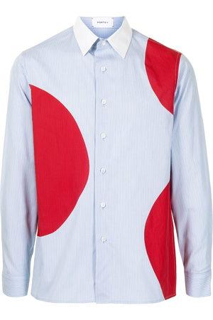 Ports V Long sleeves - Dot-print long-sleeve shirt