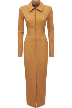 Jacquemus La Robe Obiou Viscose Blend Dress