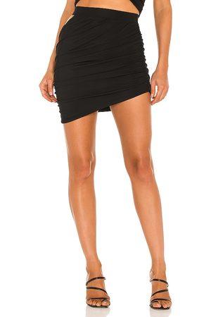 h:ours Diane Mini Skirt in . Size XXS, XS, S, M, XL.