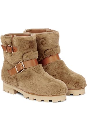 Jimmy Choo Youth II faux fur ankle boots