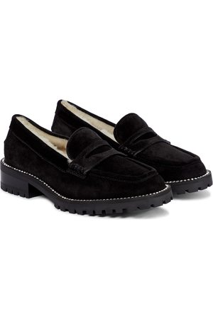 Jimmy Choo Deanna suede loafers