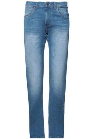 WRANGLER Men Trousers - BOTTOMWEAR - Denim trousers