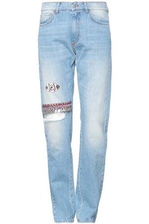 AMEN BOTTOMWEAR - Denim trousers