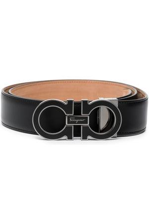 Salvatore Ferragamo Men Belts - Tonal Gancini buckle belt