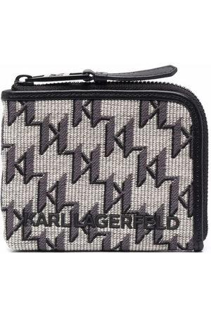 Karl Lagerfeld Women Purses & Wallets - K/Monogram jacquard wallet - Neutrals