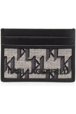 Karl Lagerfeld Women Purses & Wallets - Monogram-jacquard wallet - Neutrals