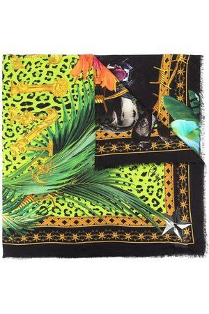 Philipp Plein Scarves - Panther Edition shawl